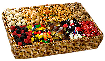 Dry Fruit and Sweets Basket