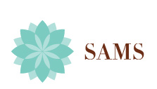 SAMS ( SKIN ANALYSIS HEALTH & BEAUTY MEDICAL SPA & GYM) LOGO
