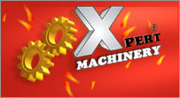 xpert machinery... logo
